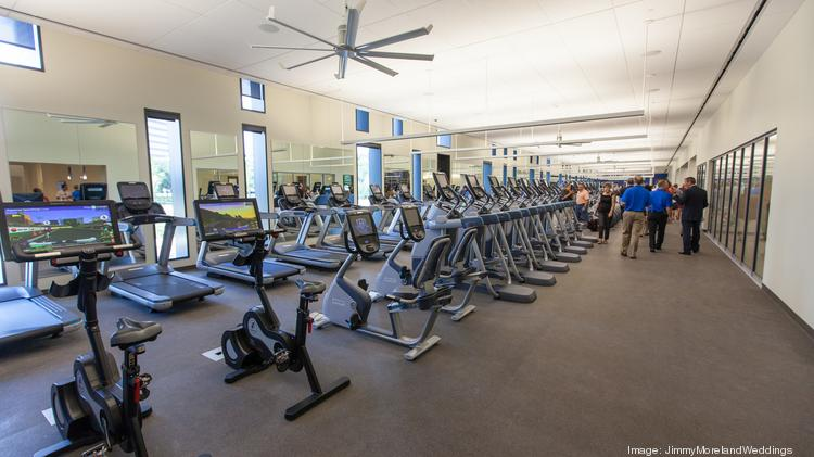 cost of building fitness centers inside houston office buildings