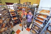 Jeff and Janet Ganoung moved here from Chicago in 2002 to open a Great Harvest Bread store on South Kings Drive in 2002. They added a location in Piper Glen in 2008.
