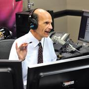 Paul Finebaum began broadcasting from Charlotte last month after being chosen as the cornerstone hire for ESPN's new SEC Network.