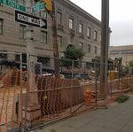 Mount Vernon businesses taking a hit as work on sinkhole continues