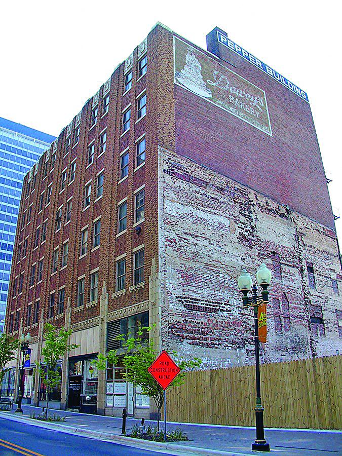 Mayfair Street Partners Which Is Converting The Pepper Building At Corner Of Liberty And