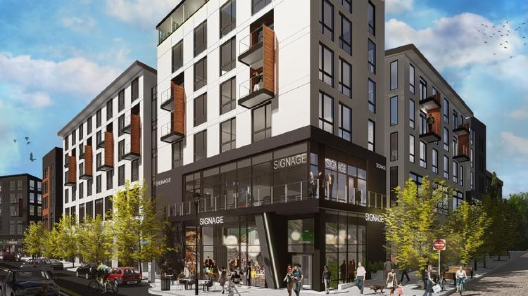 Apartment Construction Boom Continues In Suburban Bothell Puget
