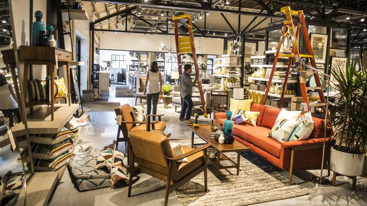 Beau Sutter Street Manufacturing Makes Upholstered Home Furnishings For  Williams Sonoma Inc. (NYSE:
