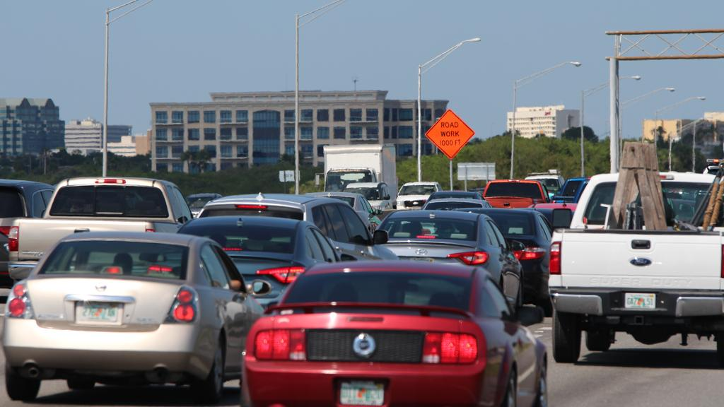 Here's what Tampa Bay traffic looks like according to FDOT - Tampa