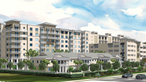 Merrimac Ventures And Alliance Residential Would Build The 211 Unit Broadstone Oceanside Apartments In Pompano