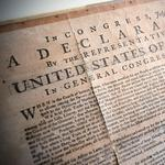 Rare copy of Declaration of Independence to go on display at Washington U