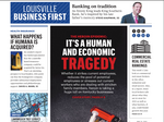 Louisville Business First earns first-place honors at annual SPJ awards