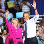President Obama, Hillary Clinton make campaign stop in Charlotte (PHOTOS)