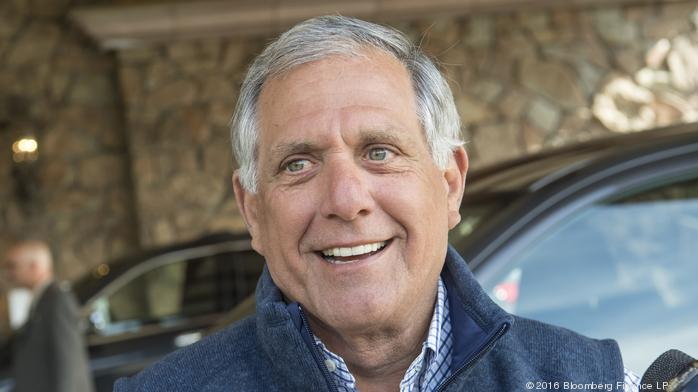 CBS chief Leslie Moonves extends contract through 2021
