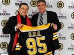 Why Cam Neely is sending Boston Bruins players to China