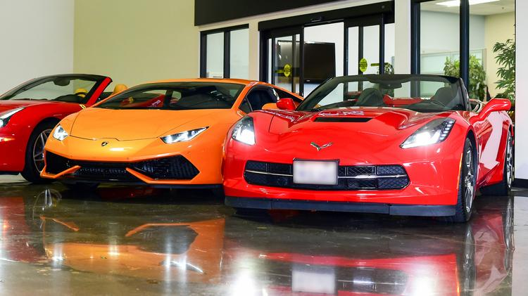 Exotic Car Rental Houston
