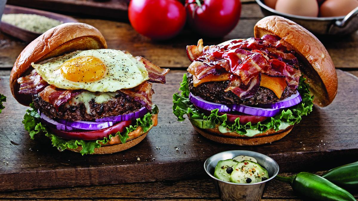 Ultimate Bacon Burger