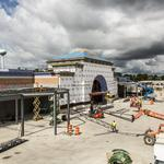 See construction of The Corners of Brookfield retail project: Slideshow