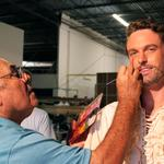 On the set: 'Million Dollar Quartet' films in Memphis
