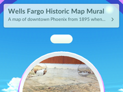 How the Pokéstop looks in the app.