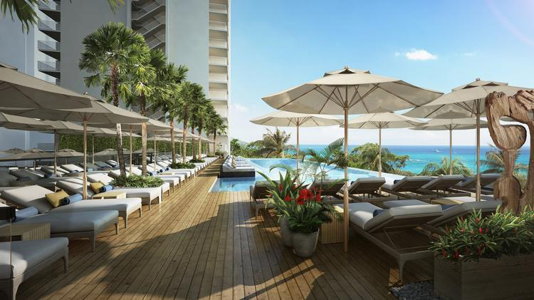 This Rendering Shows The New Infinity Pool Planned As Part Of A 115 Million Redevelopment