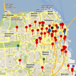 Updated: Crane Watch maps all major San Francisco construction projects