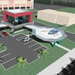 First look at AMP Group's I-Drive helicopter attraction
