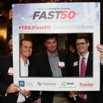 Scenes from the exclusive Fast 50 VIP reception at One Buc Place