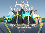 Couple enters wedded bliss with screams at Carowinds