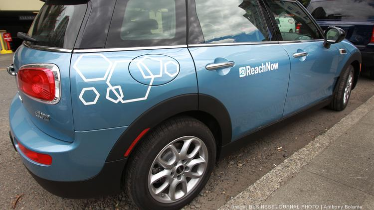 Bmw S Reachnow Has Nearly As Many Seattle Cars As Car2go Puget