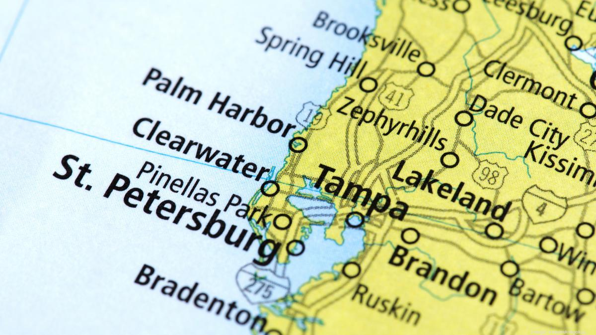 This is an image of Crafty Printable Pinellas County Zip Code Map