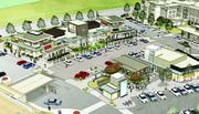 This artist's rendering  of CitySet at Cherry Creek Drive South and Colorado Boulevard shows the interior of the marketplace.