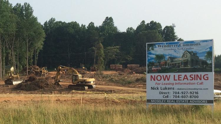 Construction Of Wendover Commons To Be Complete By Mid 2017 Greensboro Triad Business Journal
