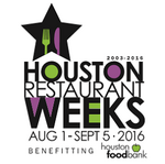 Updated: Houston Restaurant Weeks announces participating restaurants for 2016