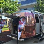 Experience Columbus, CCAD roll out Airstream media info center ahead of campaign stops