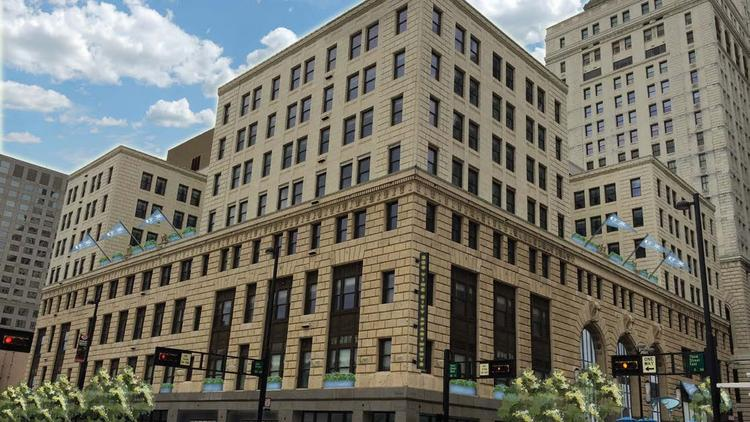 City Club Apartments U2013 Cincinnati Will Transform The Office Building At 309  Vine St. Into