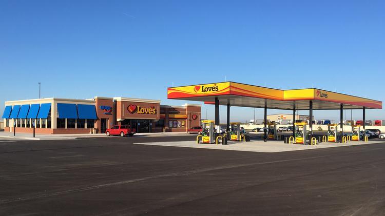 Love's Travel Stops planning $11M truck plaza, 50 jobs - Greensboro - Triad Business Journal