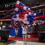 Donald Trump's huge bash gets ready to open (Photos)