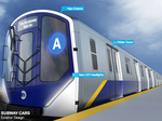 Subway cars, stations to get updated look, high-tech elements