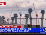 Tappan Zee Bridge shuts down after crane collapse