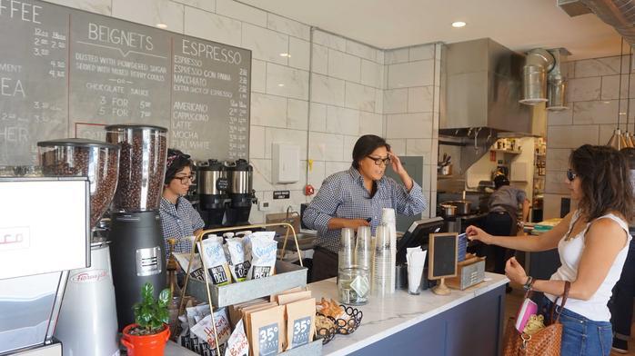 West Central coffee shop, taproom close, cite ART construction