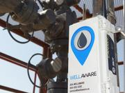 WellAware uses radio and cell phone technology to transmit data from the oil field.