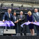 U.S. Bank Stadium ribbon cutting is a who's who of Minnesota leaders