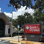 Here's how much it will cost Bank of the Ozarks to change its name