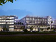 Rendering of Marin General Hospital's rebuild project.