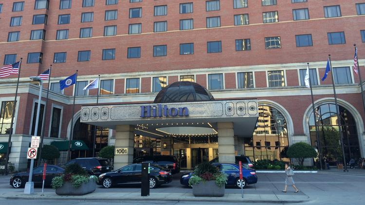 The Hilton Minneapolis Was One Of Several Twin Cities Hotels That Saw Business For