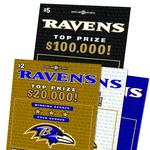Ravens, Maryland Lottery partner to offer cheaper scratch-offs