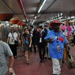 Delegates happy with SEPTA despite demonstration, weather delays