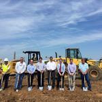 New industrial spec building underway in Katy