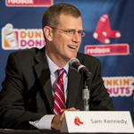 Red Sox President <strong>Sam</strong> <strong>Kennedy</strong> talks beer prices, football and all things Fenway