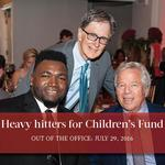 Out of the Office, July 29, 2016: Heavy hitters turn out for Papi's Children's Fund Gala