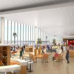 Airport hustling to add international gates in push for London flight