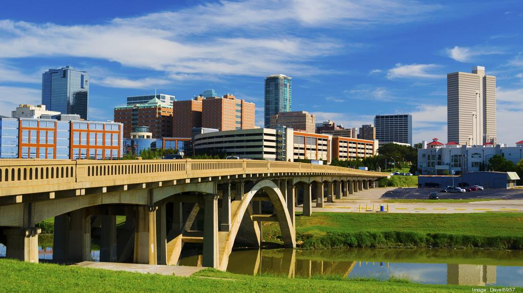 Fort Worth Texas Maps - Cultural District, Downtown, DFW ...