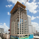Photos: Downtown luxury hotel tops out
