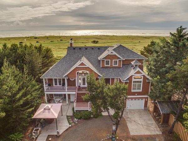 Custom Ocean Front Estate